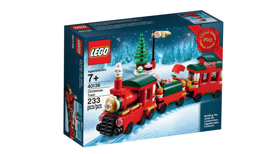 LEGO Seasonal Winter kersttrein 40138