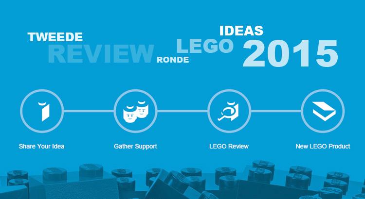 LEGO Ideas reviews 2e helft 2015