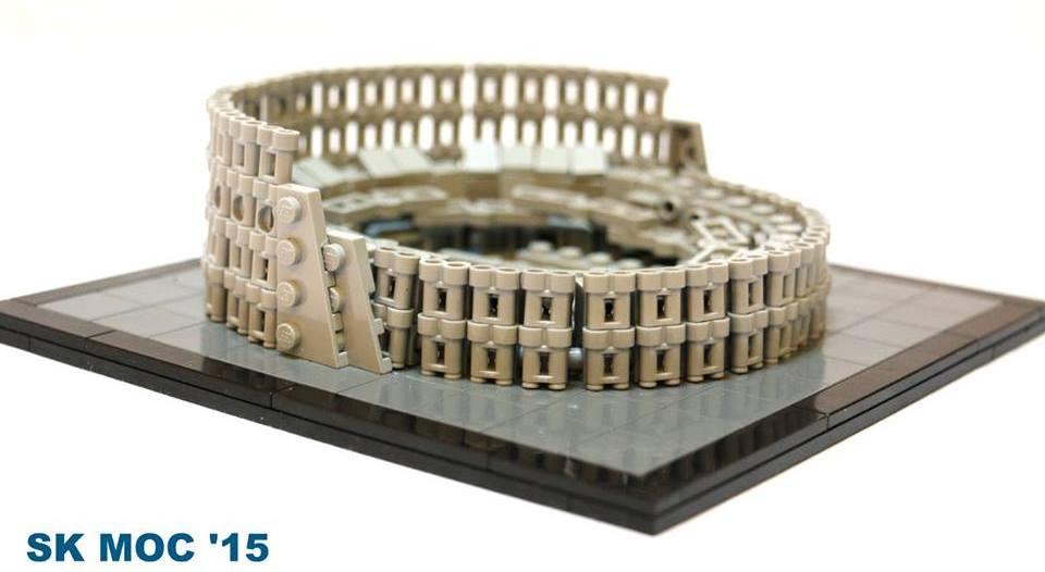LEGO Colosseum MOC SK uitgelicht