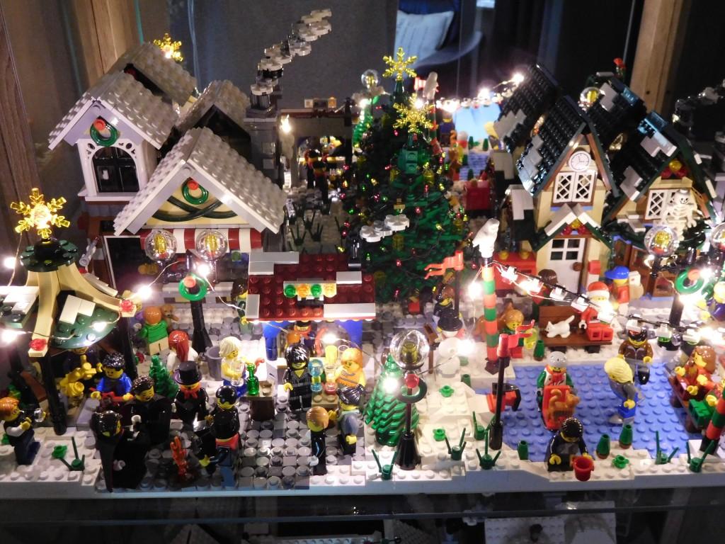 LEGO Kerstdorp door Henk Elan