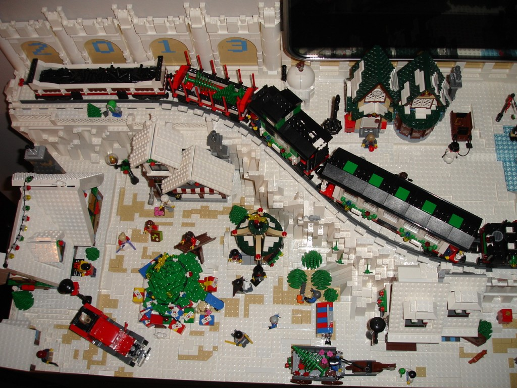 LEGO Kerstdorp van Fam. Blokland
