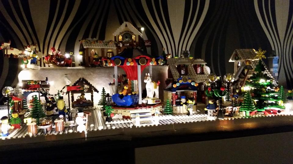 LEGO Kerstdorp van Evy De Block