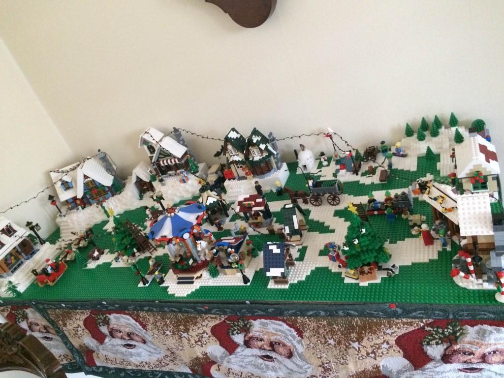 LEGO Kerstdorp van Patricia Haan