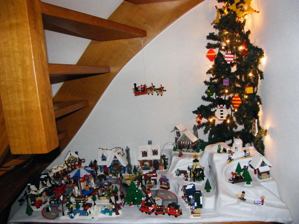 LEGO Kerstdorp van Martijn van Dijk