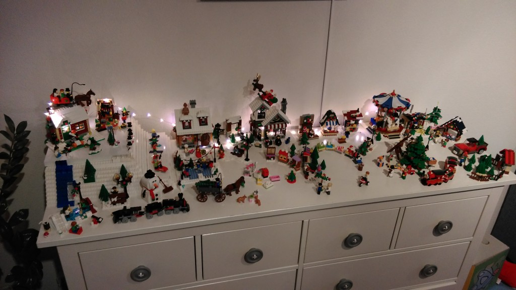 LEGO Kerstdorp van David en Joska Harting
