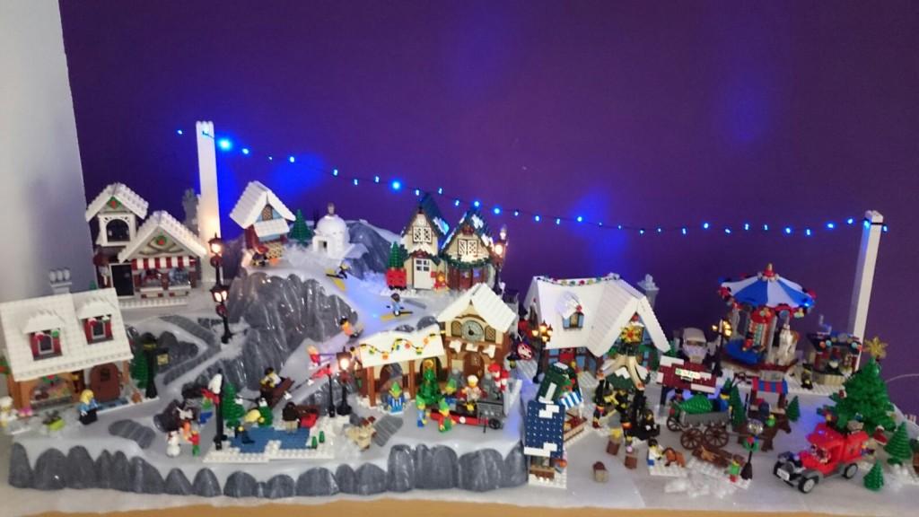 LEGO Kerstdorp van Sean Alleman