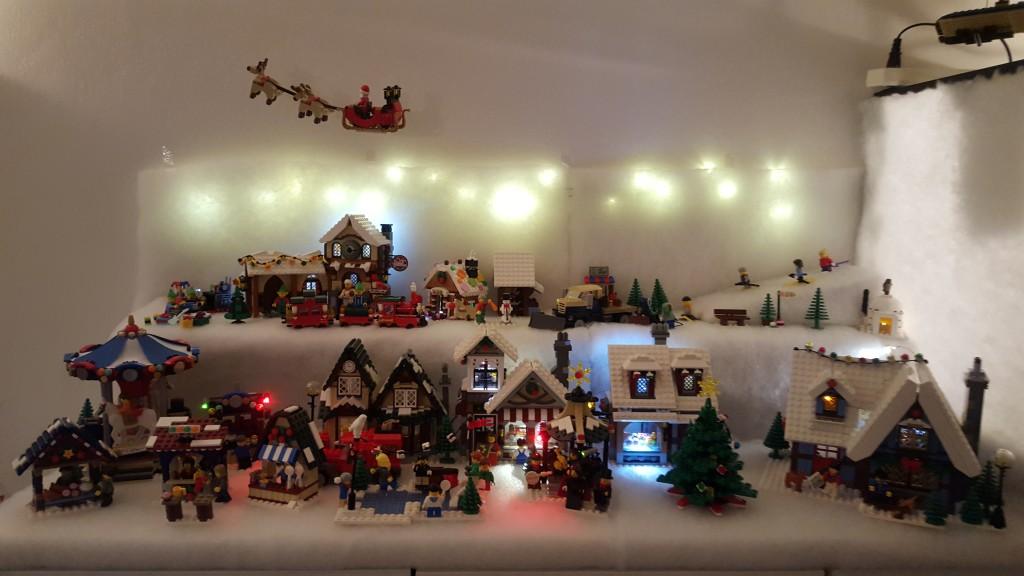 LEGO Kerstdorp van Mariska van Bentem