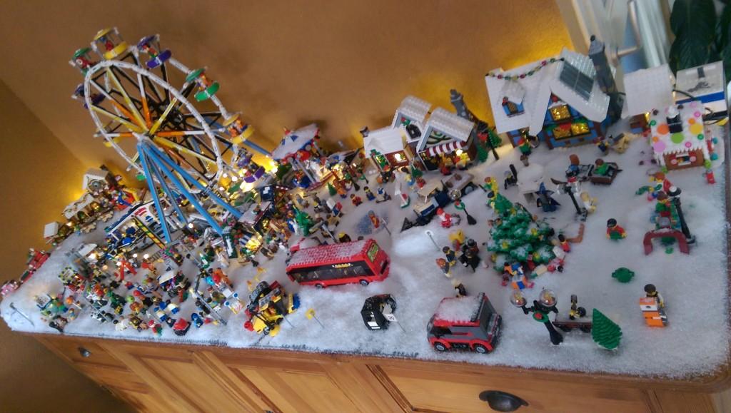 LEGO Kerstdorp van Frank Visser