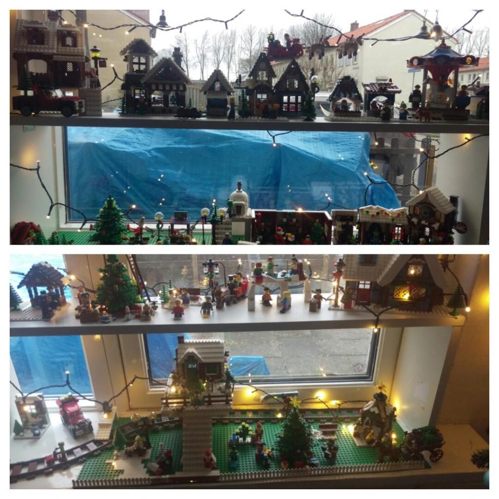 LEGO Kerstdorp van Fam. Vierkant