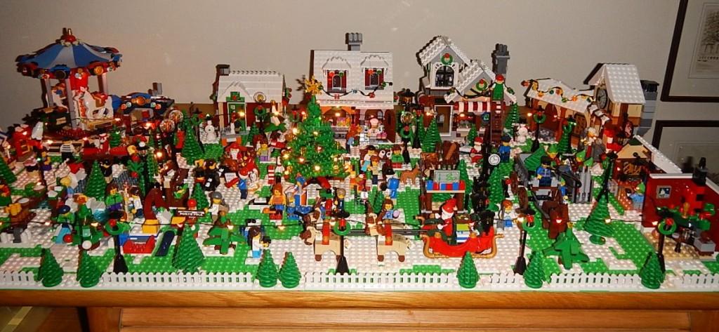 LEGO Kerstdorp van Piet Vorstenbos