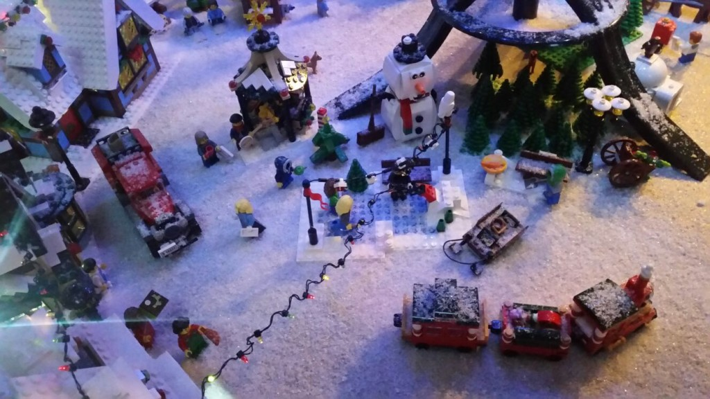 LEGO Kerstdorp van Catharina Kers