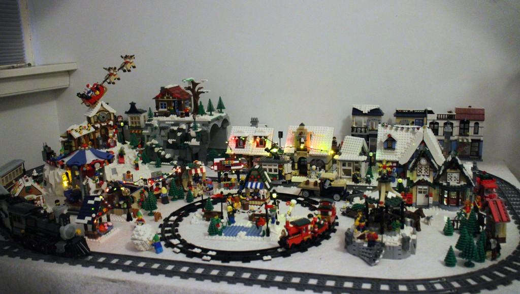 LEGO Kerstdorp van Hans