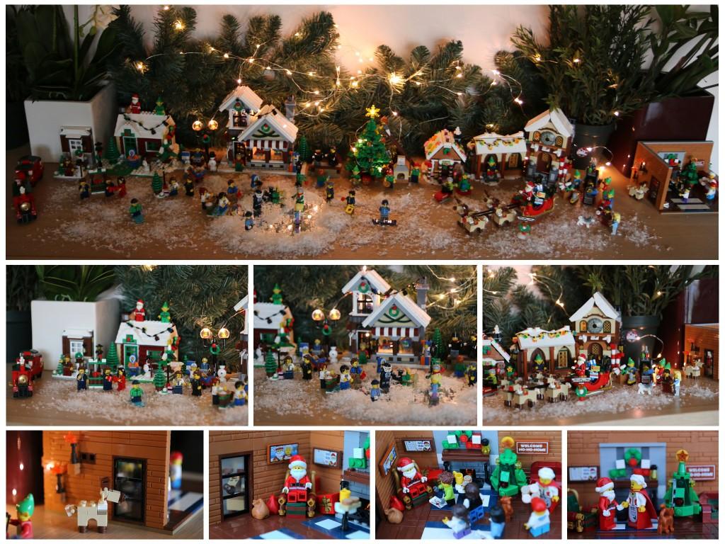 LEGO Kerstdorp van Jo van Holder