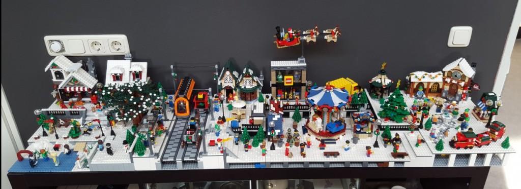 LEGO Kerstdorp van Bjorn