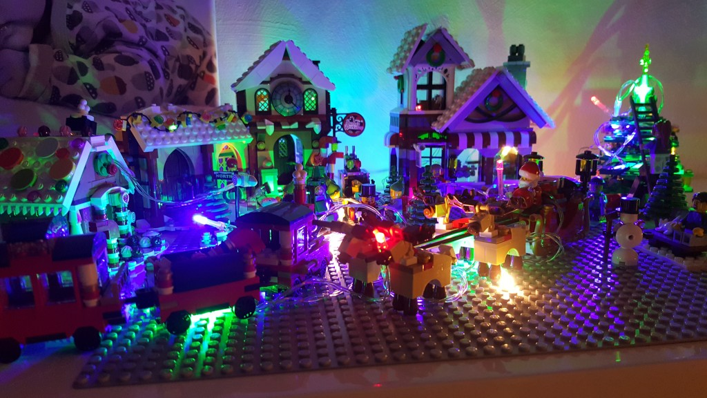 LEGO Kerstdorp van Ilona