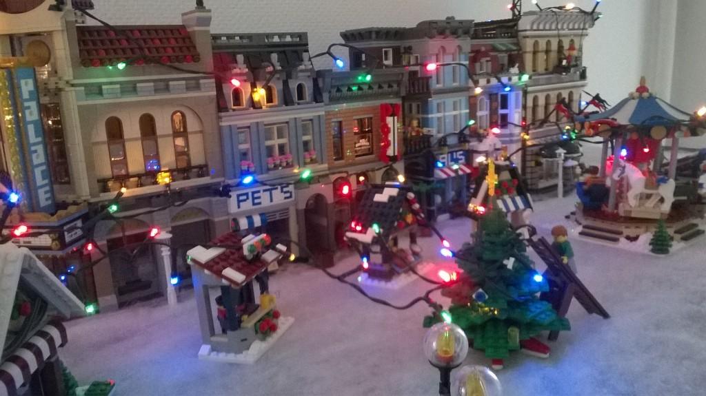 LEGO Kerstdorp van John Van Hulle