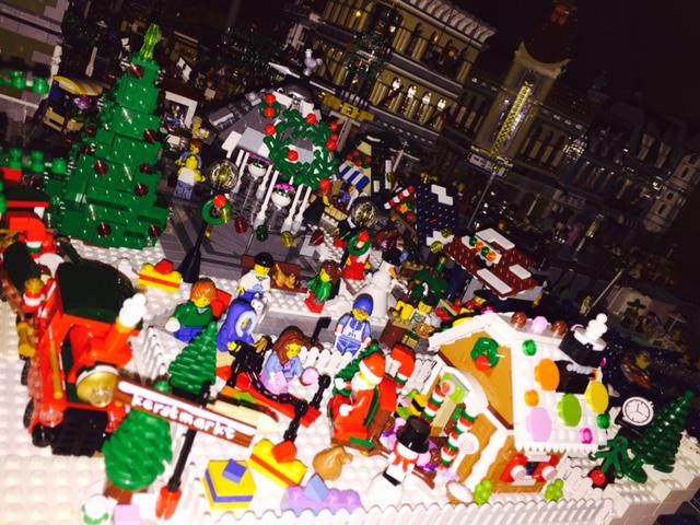 LEGO Kerstdorp van Gauthier Libbrecht