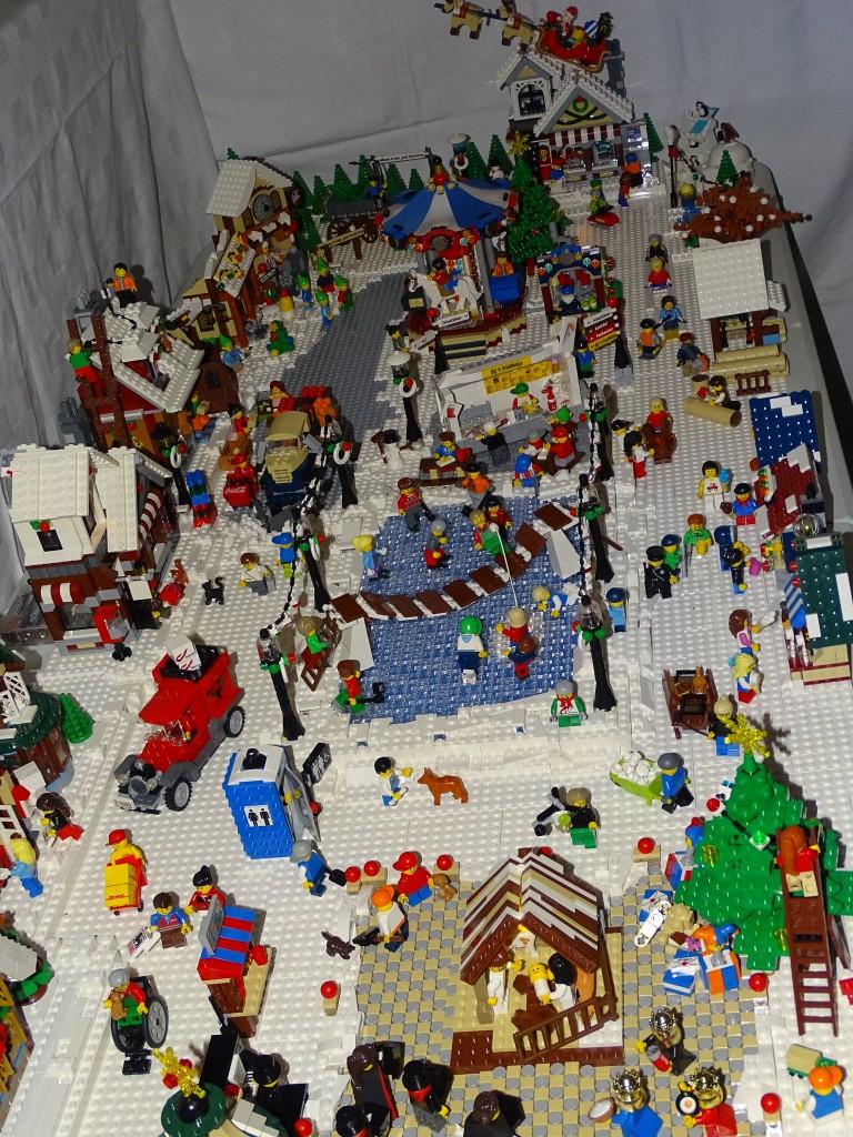 LEGO Kerstdorp van Tinneke Tersago