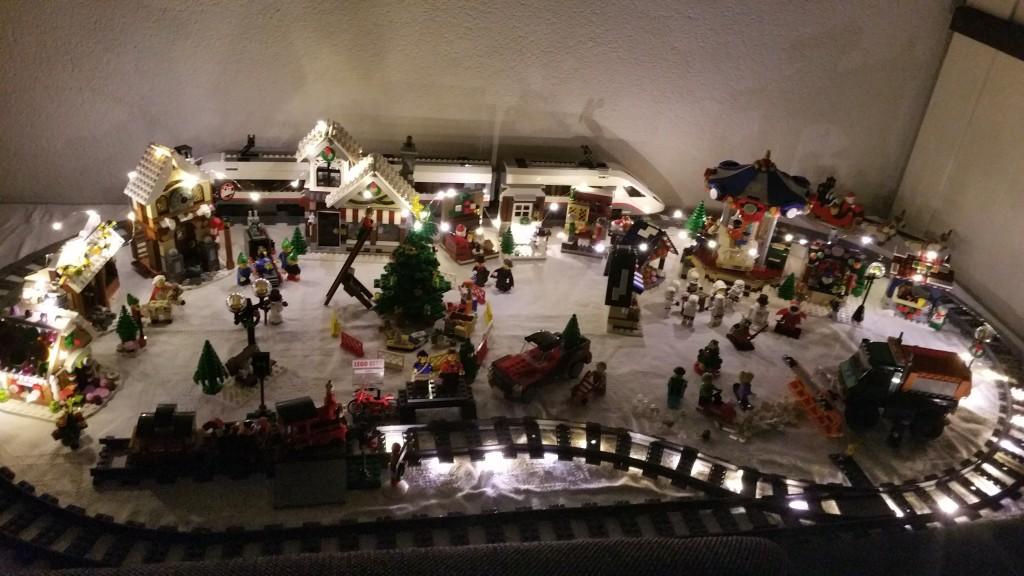LEGO Kerstdorp van Aldert de Ruijter