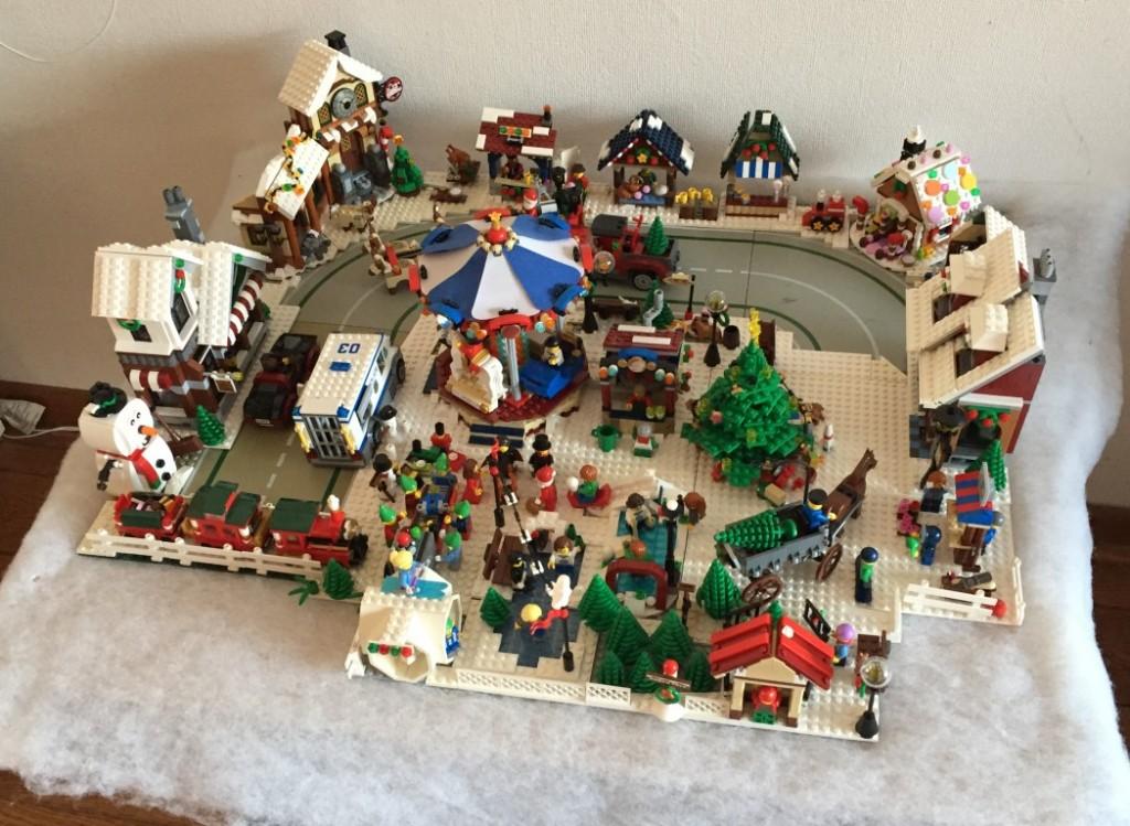 LEGO Kerstdorp van Jeroen Kappert