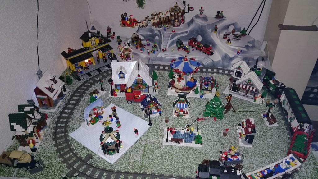 LEGO Kerstdorp van Jeroen en Desiree