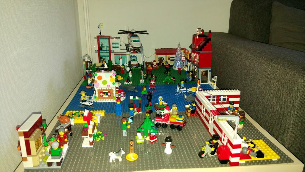 LEGO Kerstdorp van Daan Schutte
