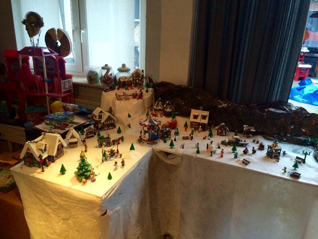 LEGO Kerstdorp van Fam. Timmermans van Weert