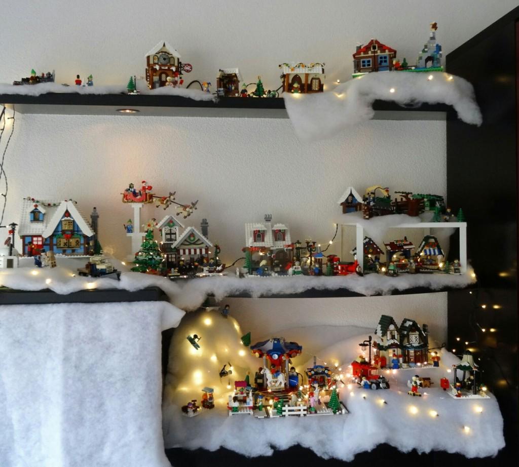 LEGO Kerstdorp van Lucie Wijnen