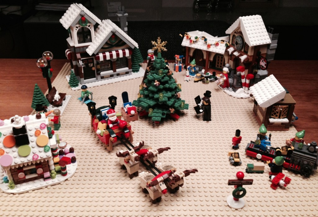 LEGO Kerstdorp van Martijn op het Broek
