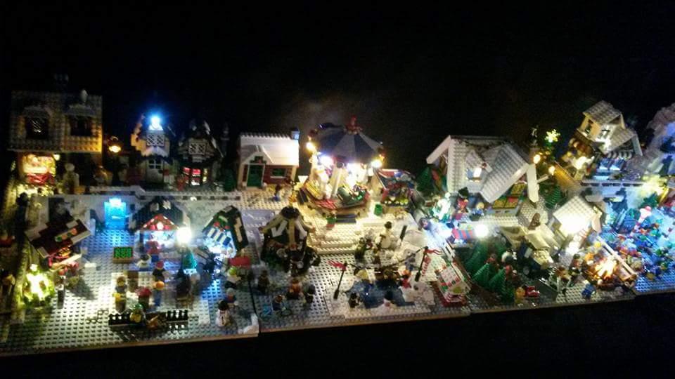 LEGO Kerstdorp van Ben Verzekerd