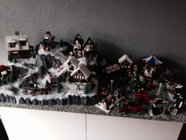 LEGO Kerstdorp van Bianca Sonderman