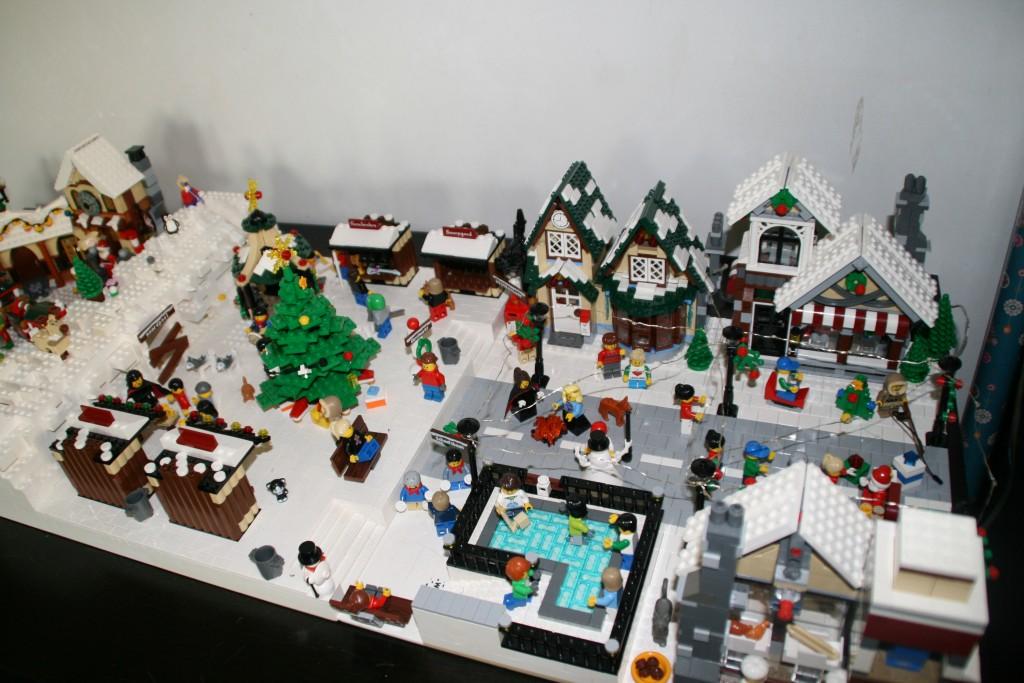LEGO Kerstdorp van Cathy en Mamik