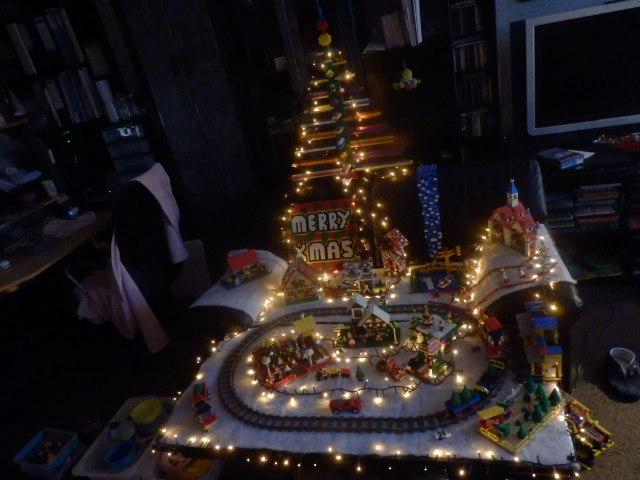 LEGO Kerstdorp van Joniro Masmeijer