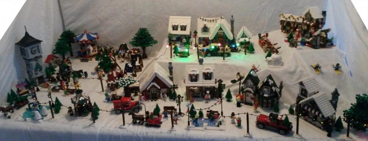 LEGO Kerstdorp van Wilco Boer