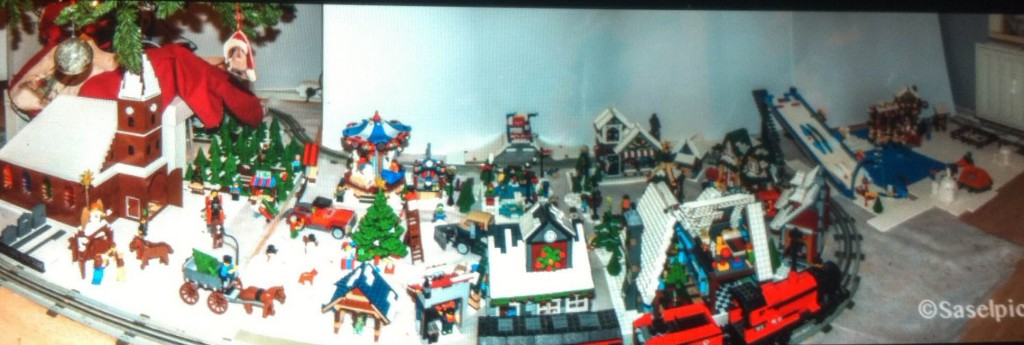 LEGO Kerstdorp van Astrid Berk