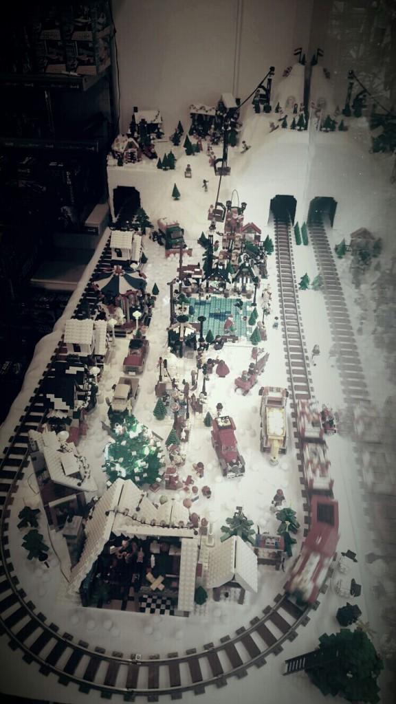 LEGO Kerstdorp van Arjan Schuurman