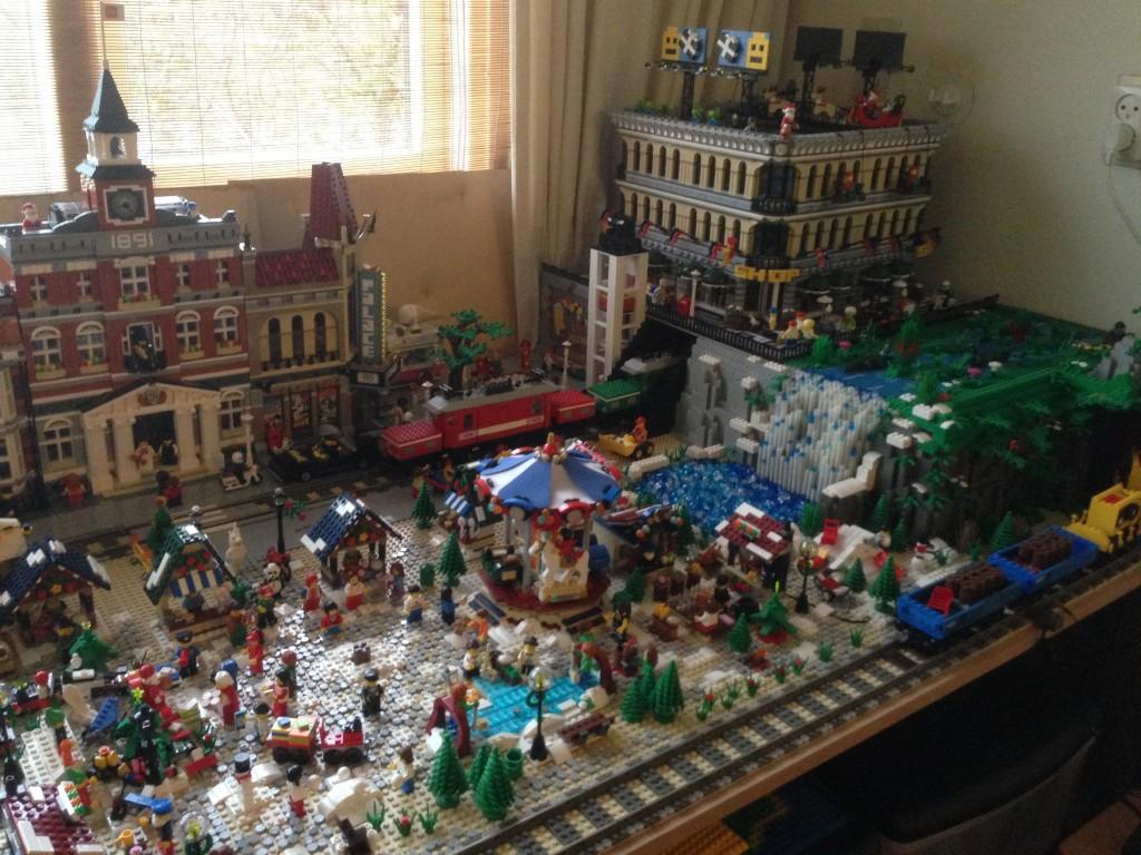 LEGO Kerstdorp van Christian van der Niet