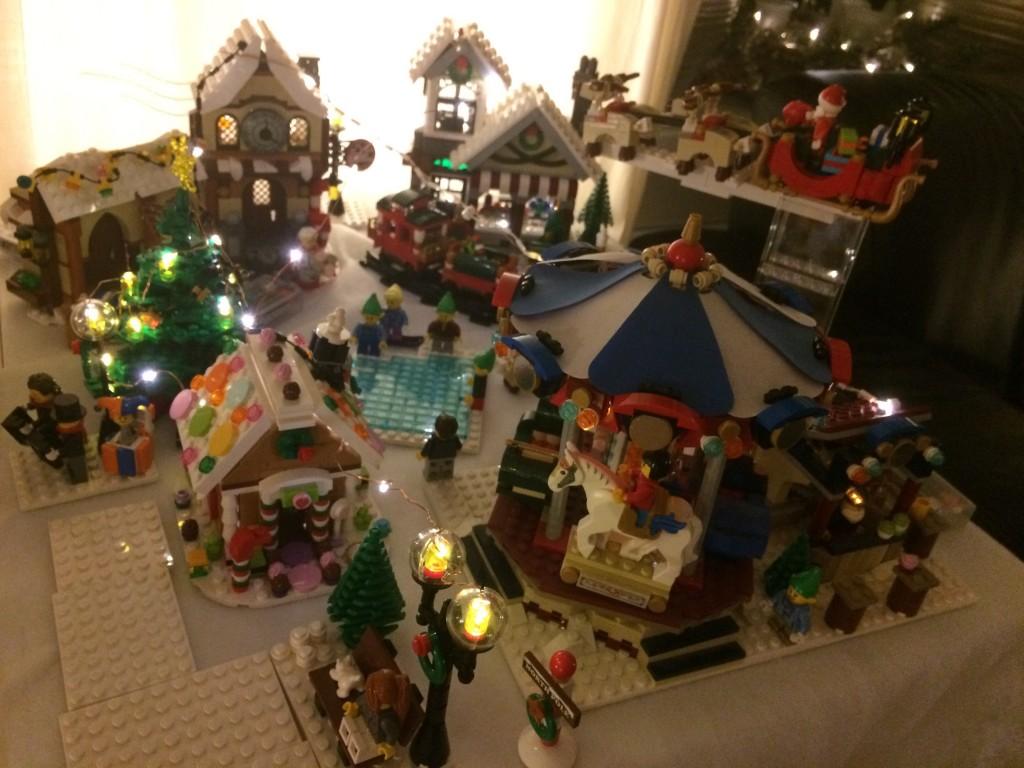 LEGO Kerstdorp van Joren de Graaf
