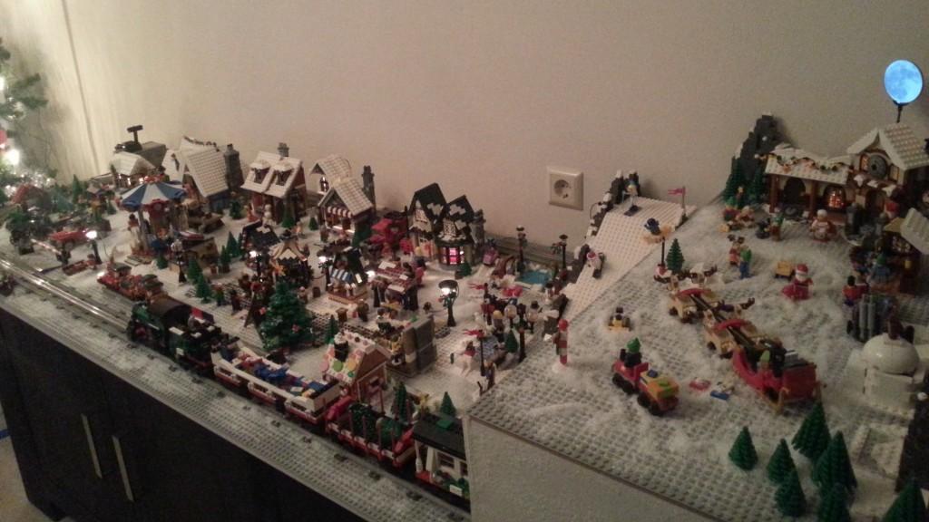 LEGO Kerstdorp van P. Selhorst