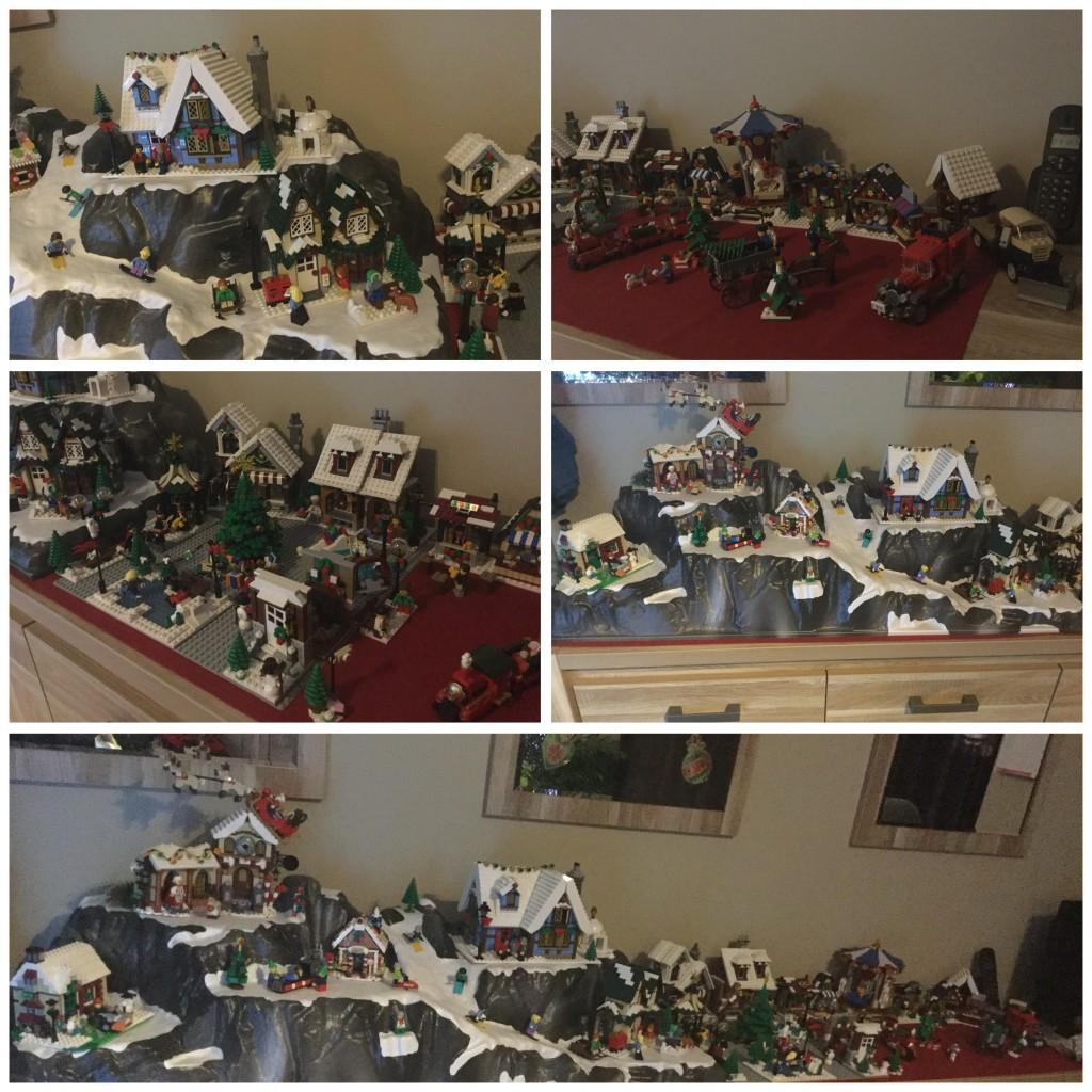LEGO Kerstdorp van Matthais Ost