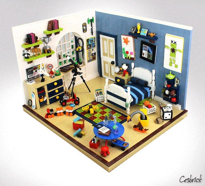 De ultieme LEGO slaapkamer! - Bouwsteentjes.info