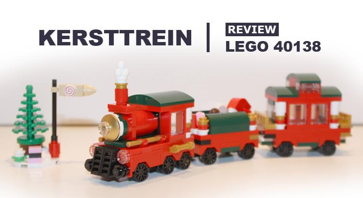 LEGO Seasonal 40138 Kersttrein