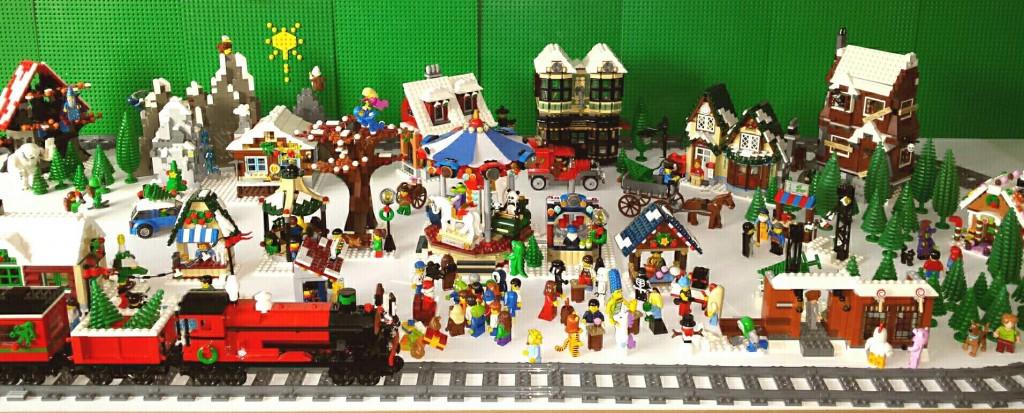 LEGO Kerstdorp van Judith Boomsma