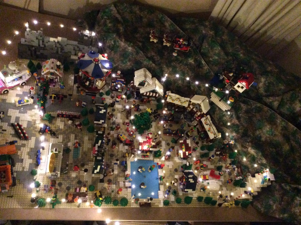 LEGO Kerstdorp van Janet van der Niet