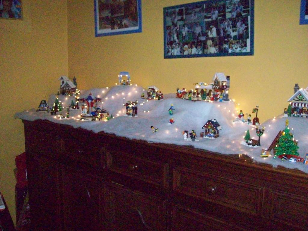 LEGO Kerstdorp van Sarah Batens