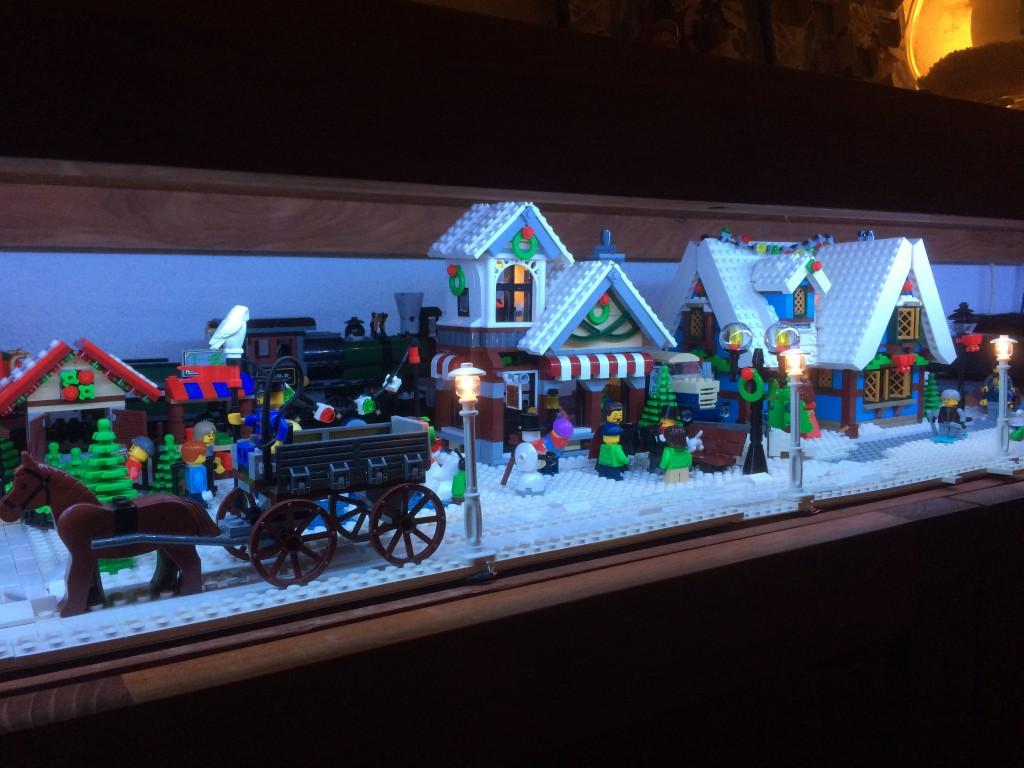 LEGO Kerstdorp van Ulvrin Post