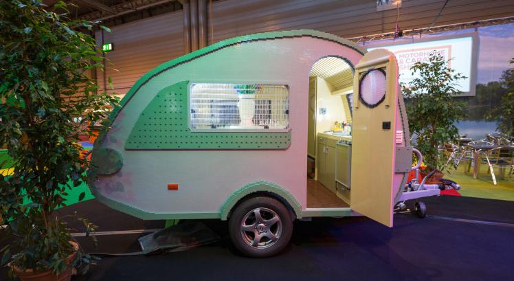 LEGO caravan uitgelicht