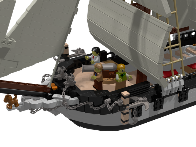 LEGO Ideas HMS Beagle