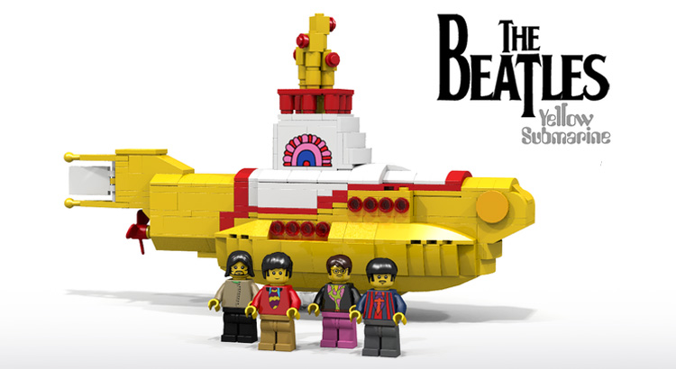 LEGO Ideas Beatles Yellow Submarine