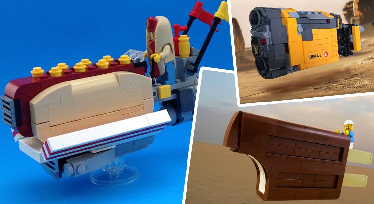 Gepimpte LEGO Rey's Speeders wedstrijd door TBB